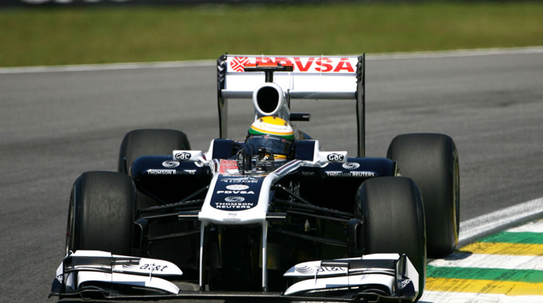Rubens Barrichello - GP Brasilien - 25. November 2011