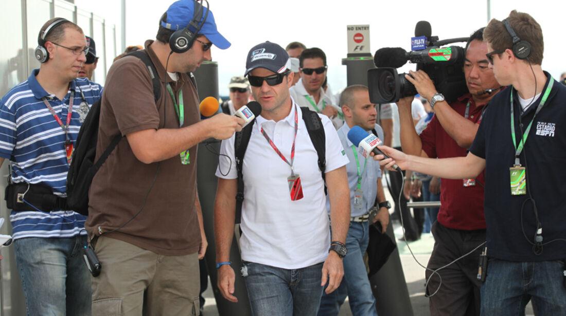 Rubens Barrichello - GP Brasilien - 26. November 2011