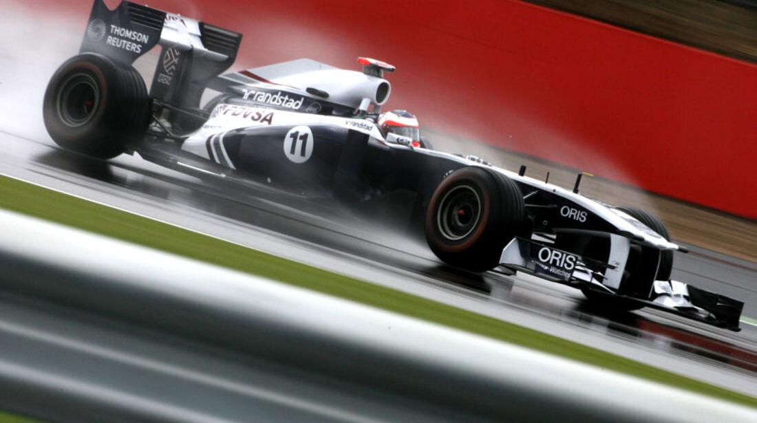Rubens Barrichello GP England 2011