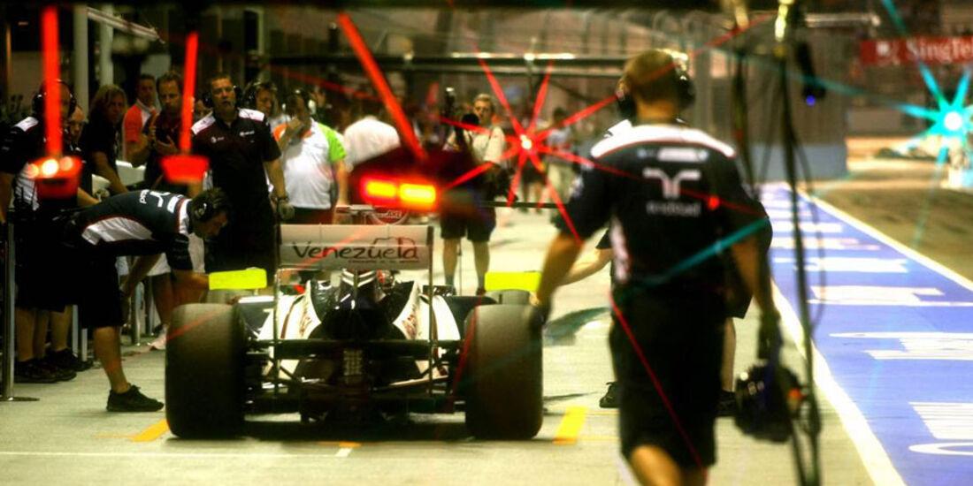Rubens Barrichello - GP Singapur - 23. September 2011