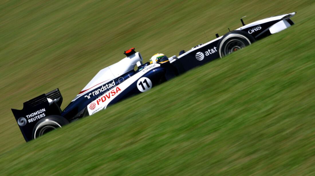 Rubens Barrichello Williams GP Brasilien