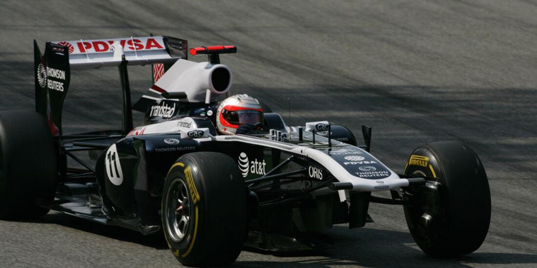 Rubens Barrichello Williams GP Italien 2011