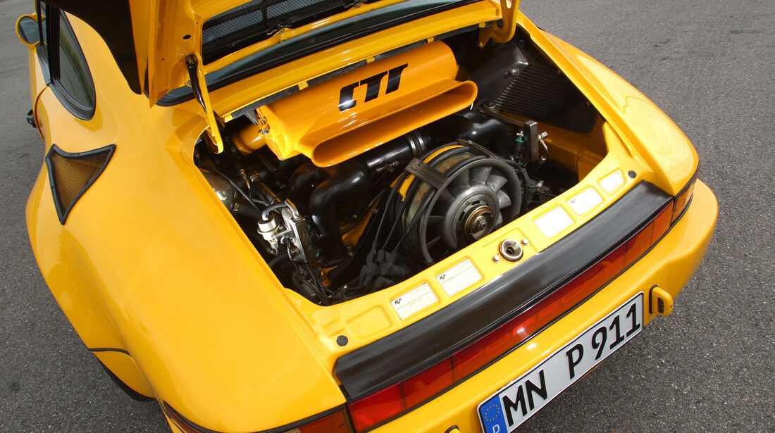 Ruf CTR Yellowbird, Motor