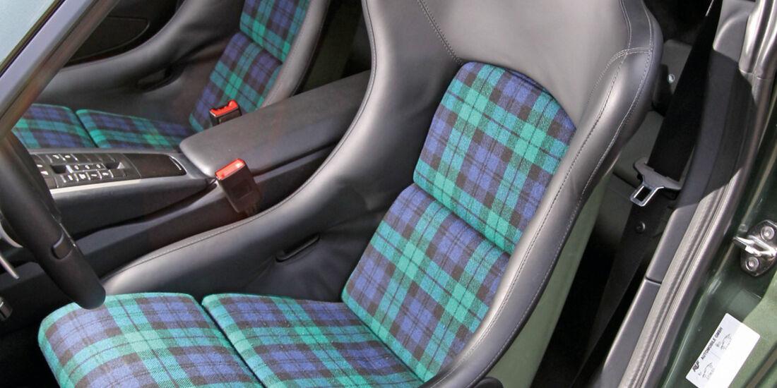 Ruf RT 35, Fahrersitz