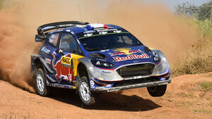 Sébastien Ogier - Ford Fiesta - M-Sport - WRC - Rallye Spanien 2017