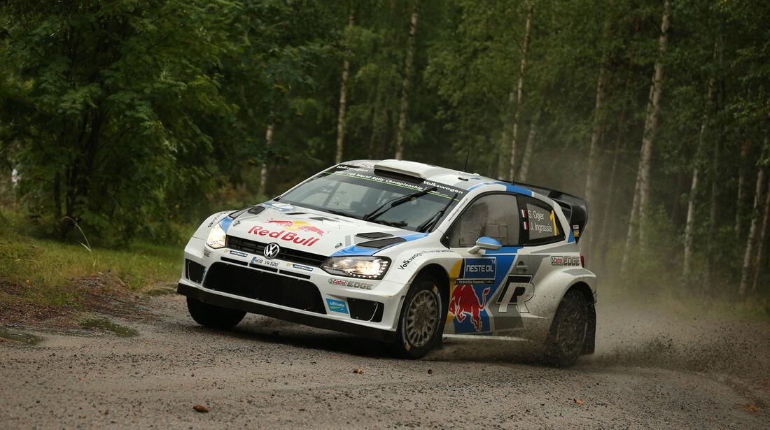 Sébastien Ogier - Rallye Finnland 2014 - Tag 2 - VW Polo R WRC