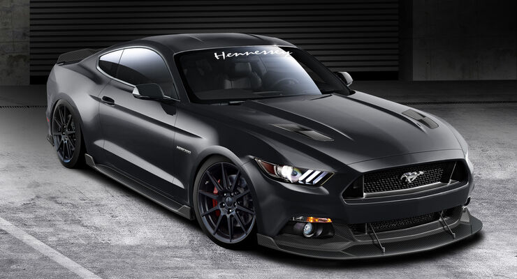 SEMA-Show 2014, Tuning, Messe, Hennessey, HPE 700 Mustang