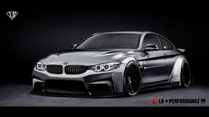 SEMA-Show 2014, Tuning, Messe, LB Performance, BMW M4
