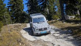 SPERRFRIST Mercedes G Erlkönig W464 Mitfahrt Schöckl Graz