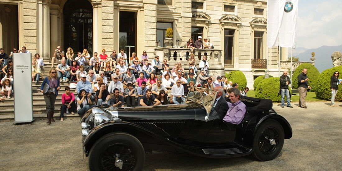SS 100 Jaguar (1937) - der erste in die USA exportierte Jaguar.