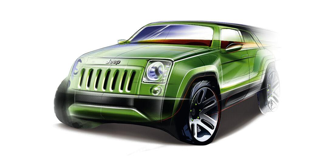 SUV Jeep Corretto