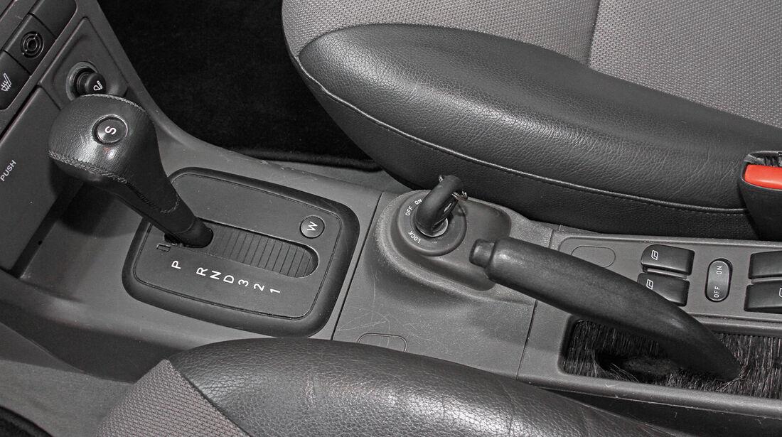 Saab 9-3 2.0 Turbo, Schalthebel
