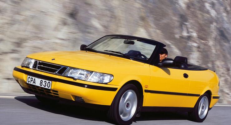 Saab 900 Cabrio, Frontansicht