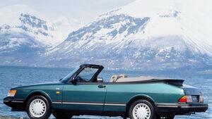Saab 900 Cabriolet, Seitenansicht