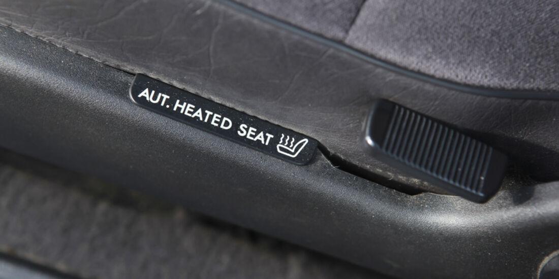 Saab 900, Detail, Sitzheizung