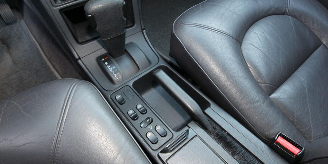 Saab 9000 CD, Schalthebel, Schaltknauf