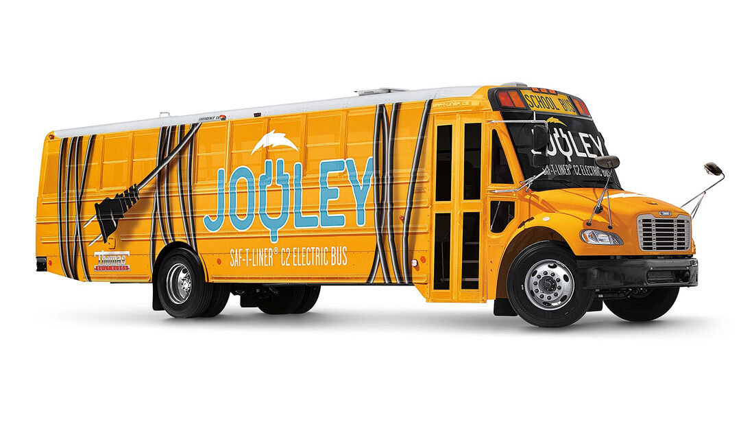 Saf-T-Liner C2 Electric Bus Jouley