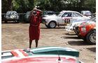 Safari-Revival Ostafrika, Fahrerlager, Massai