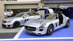 Safety Car  - Formel 1 - GP Abu Dhabi - 31. Oktober 2013