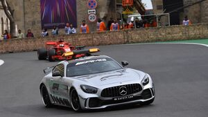 Safety Car - Formel 1 - GP Aserbaidschan - 29. April 2018