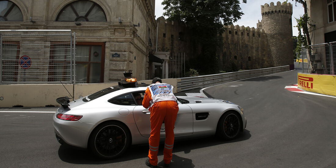 Safety-Car - Formel 1 - GP Aserbaidschan - Baku - 17. Juni 2016