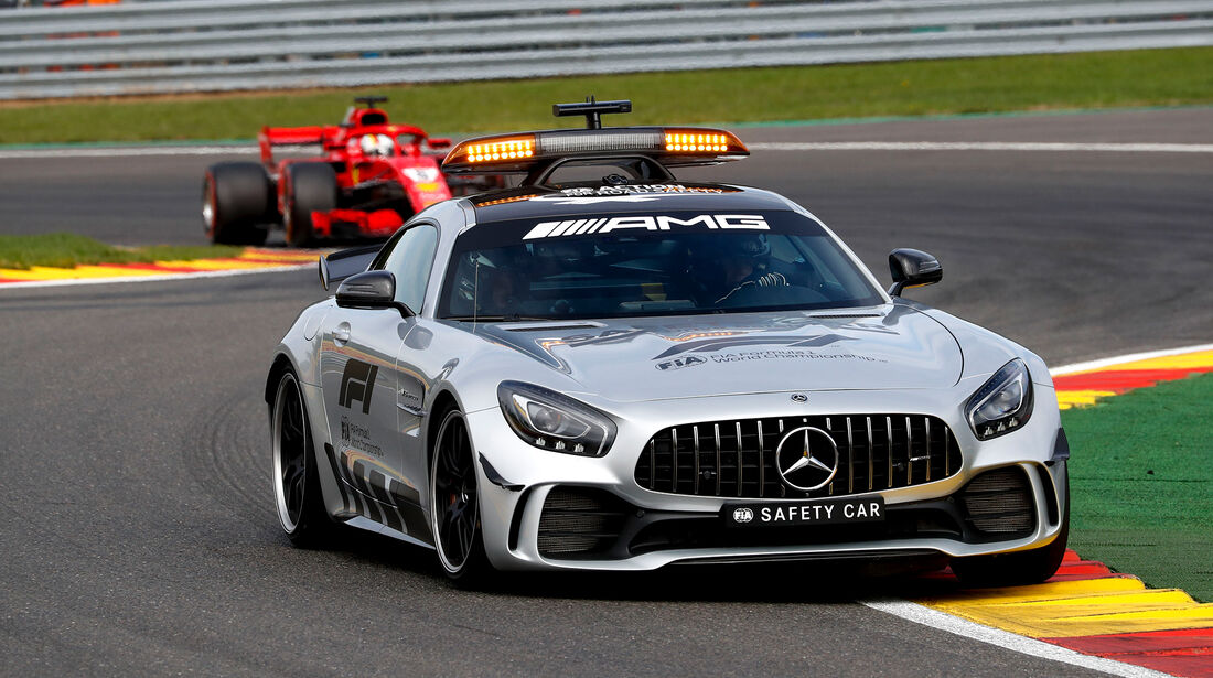 Safety-Car - Formel 1 - GP Belgien 2018