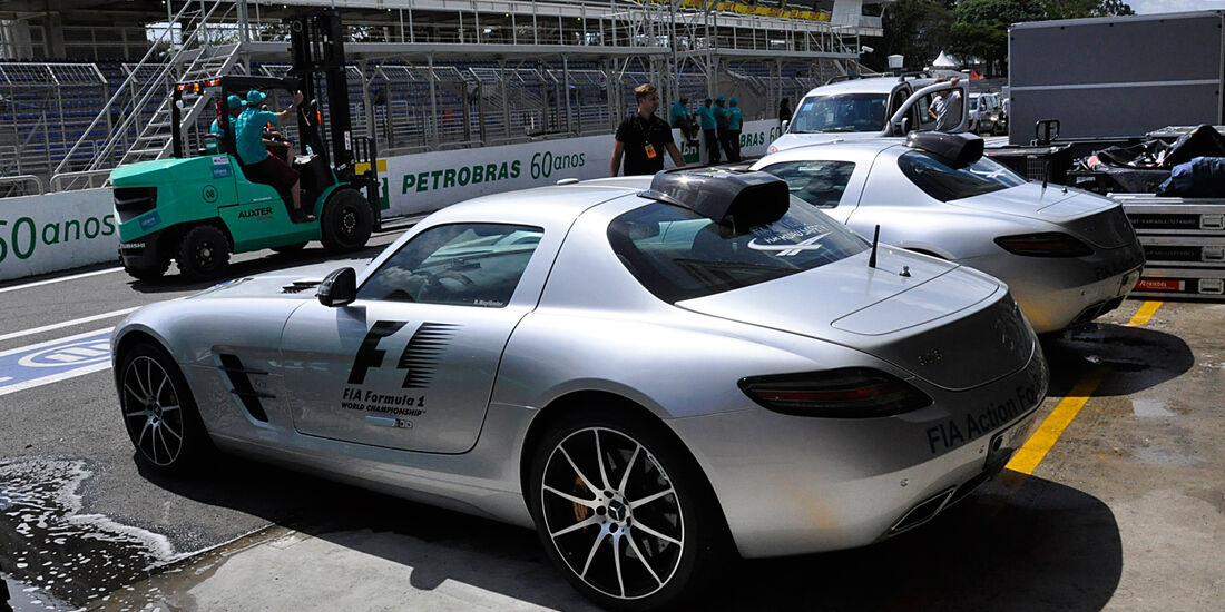 Safety-Car - Formel 1 - GP Brasilien - 20. November 2013