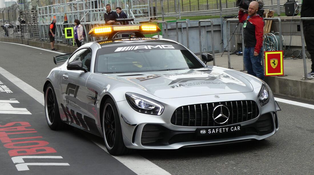 Safety-Car - Formel 1 - GP China - Shanghai - 12. April 2018