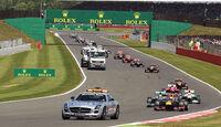 Safety-Car - Formel 1 - GP England 2013