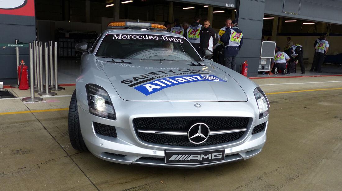 Safety-Car - Formel 1 - GP England - Silverstone - 5. Juli 2014