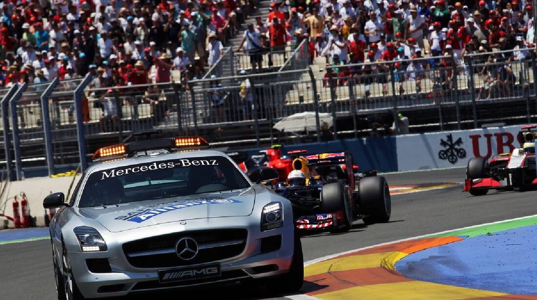 Safety Car  - Formel 1 - GP Europa - 24. Juni 2012