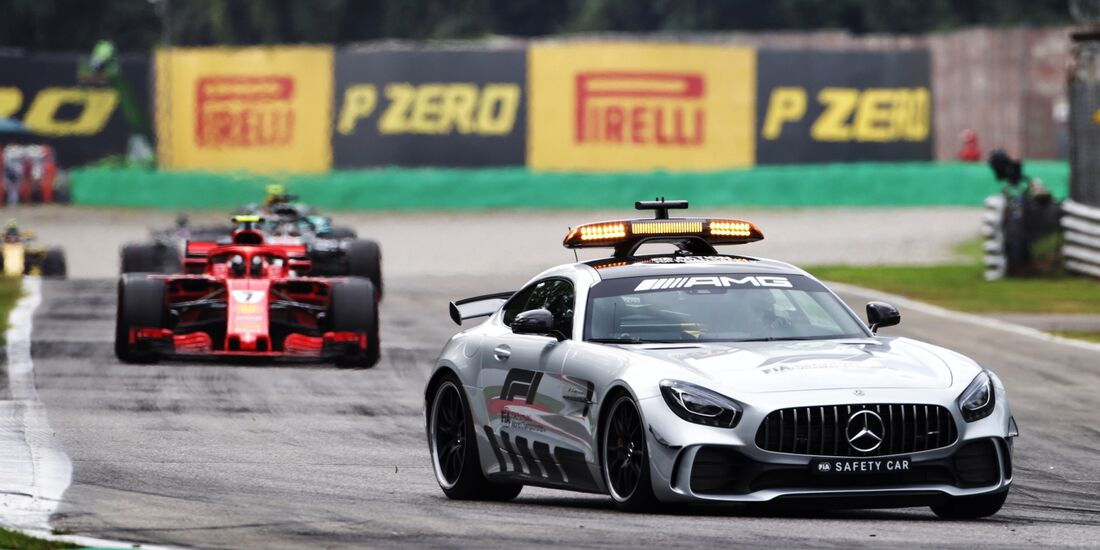 Safety Car - Formel 1 - GP Italien - 02. September 2018