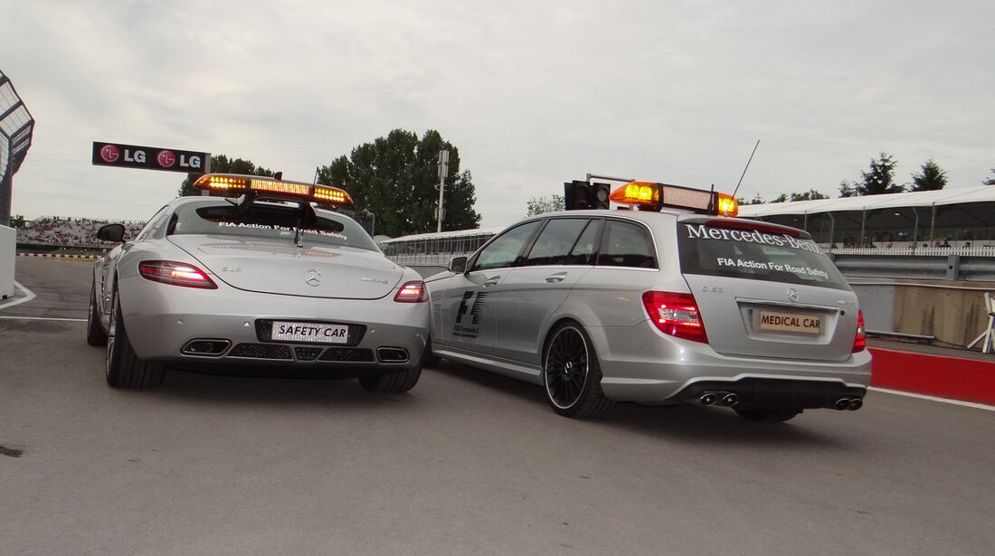 Safety-Car - Formel 1 - GP Kanada 2012 - 8. Juni 2012