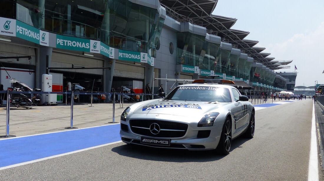 Safety-Car - Formel 1 - GP Malaysia - Sepang - 27. März 2014