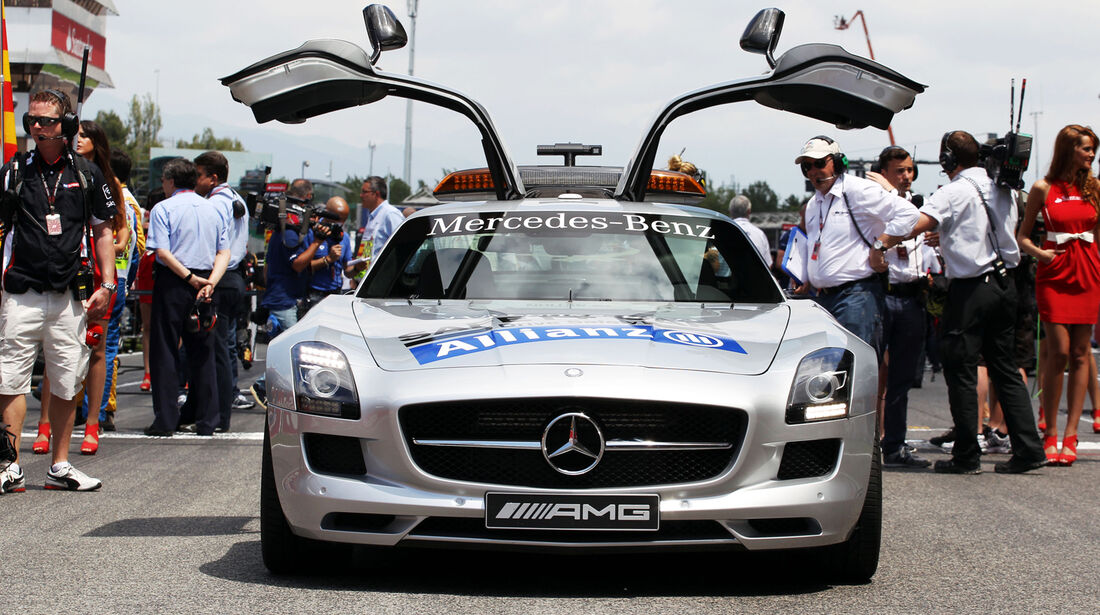 Safety-Car - Formel 1 - GP Spanien 2013