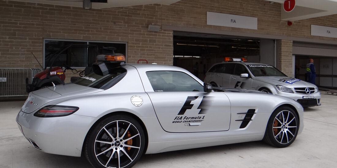Safety-Car - Formel 1 - GP USA - Austin - 15. November 2012