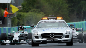 Safety-Car - Formel 1 - GP Ungarn - 27. Juli 2014