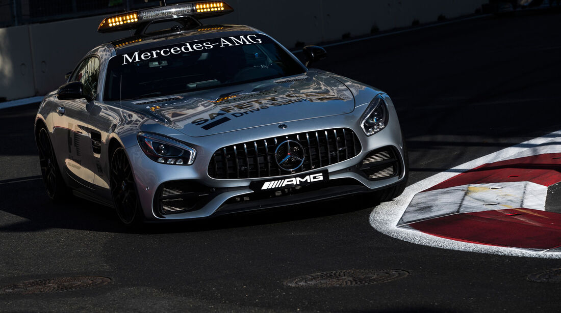 Safety Car - GP Aserbaidschan 2017 - Baku - Rennen