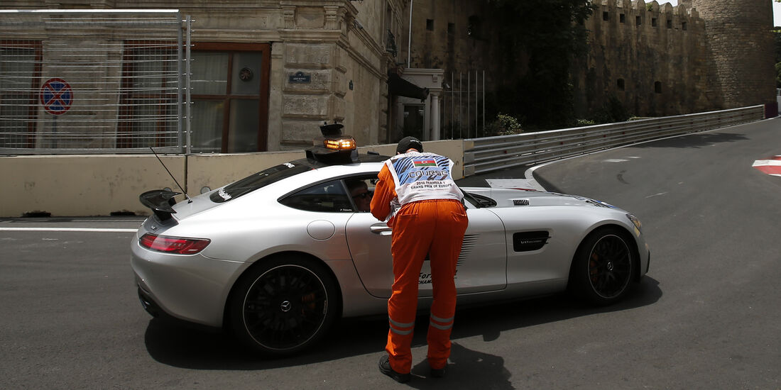 Safety-Car - GP Aserbaidschan - Formel 1 - 2016