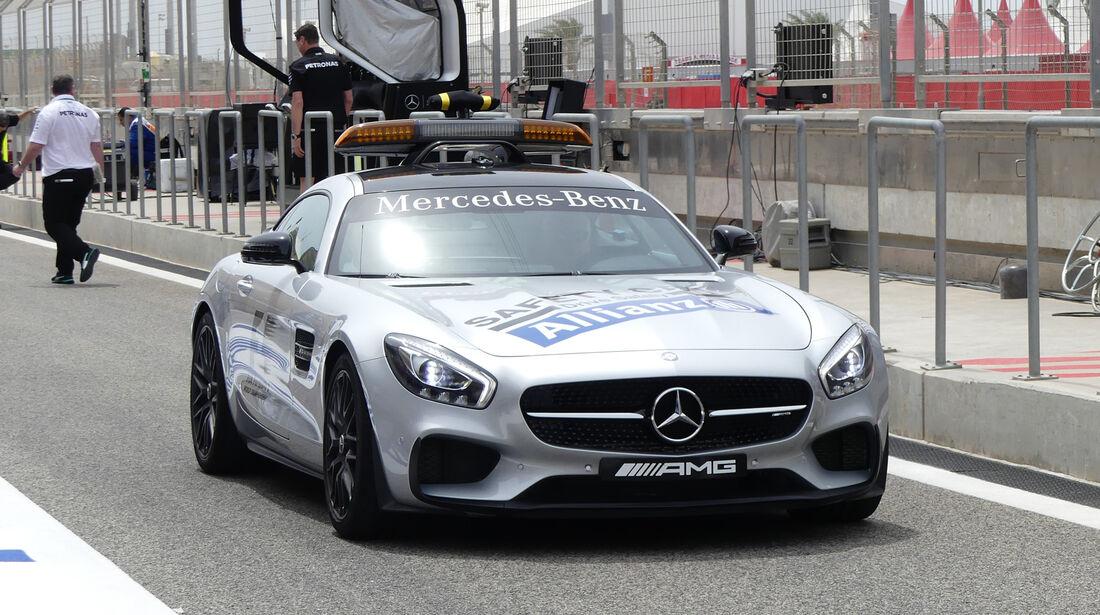 Safety-Car - GP Bahrain - Formel 1 - 1. April 2016