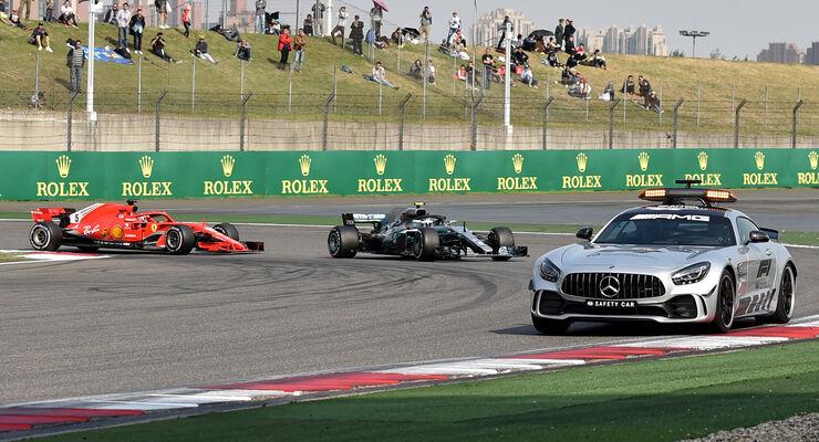 Safety-Car - GP China 2018