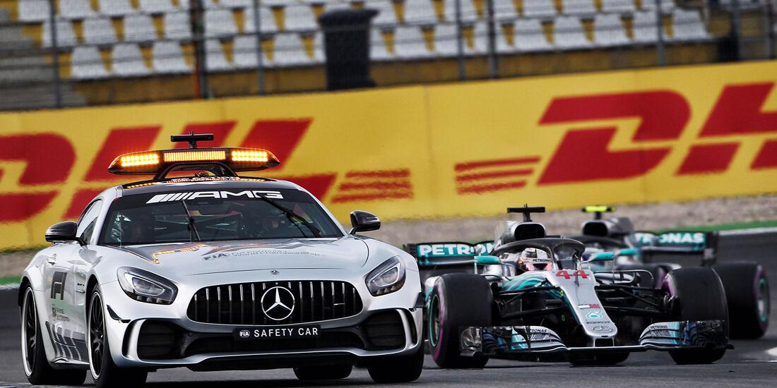 Safety Car - GP Deutschland 2018 - Rennen