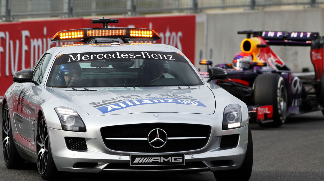 Safety-Car - GP Korea 2013