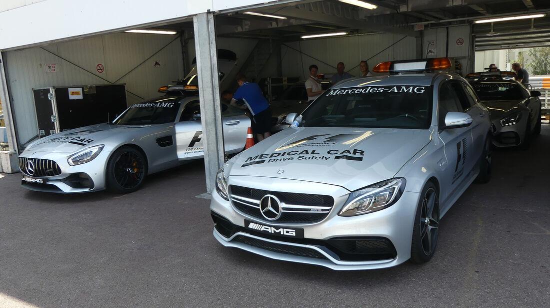 Safety-Car - GP Monaco - Formel 1 - 14. Mai 2017