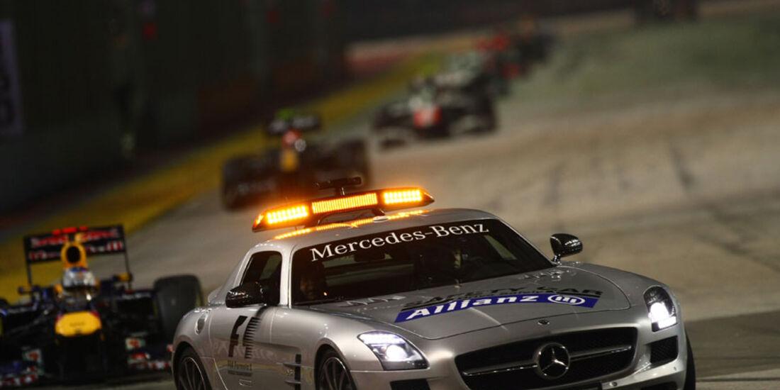 Safety-Car GP Singapur 2011