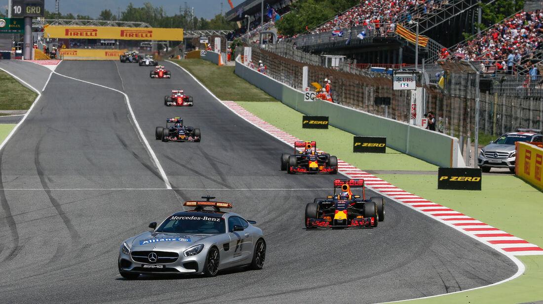 Safety Car - GP Spanien 2016 - Barcelona - Sonntag - 15.5.2016
