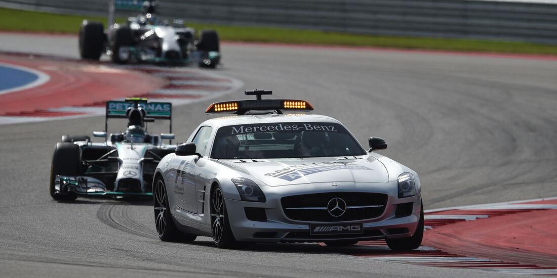 Safety-Car GP USA 2014