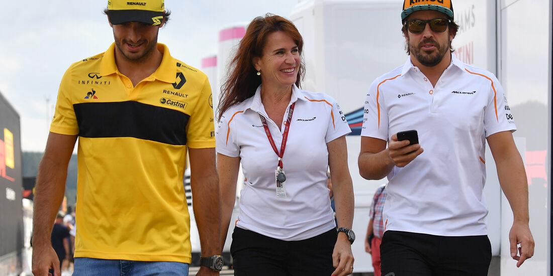 Sainz & Alonso - GP Italien 2018