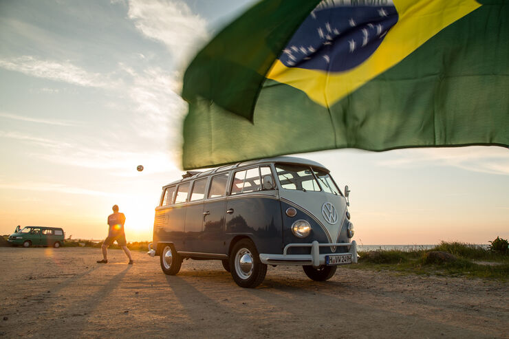 Samba-Bus, Frontansicht