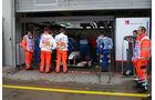 Sauber-Box - Nürburgring - GP Deutschland - 21. Juli 2011